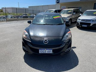 2010 Mazda 3 BL SP25 Black 5 Speed Automatic Sedan.