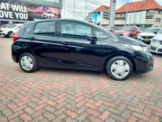 2018 Honda Jazz GF MY19 VTi Crystal Black 1 Speed Constant Variable Hatchback.