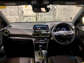 2019 Hyundai Kona OS.3 MY20 Highlander 2WD Green 6 Speed Sports Automatic Wagon