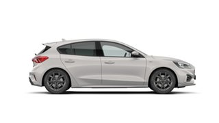 2021 Ford Focus SA 2021MY ST-Line Metropolis White 8 Speed Automatic Hatchback