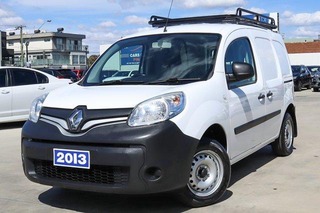 Used Renault Kangoo F61 Phase II Coburg North, 2013 Renault Kangoo F61 Phase II White 5 Speed Manual Van