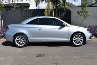 2012 Volkswagen EOS 1F MY12 155TSI DSG Silver 6 Speed Sports Automatic Dual Clutch Convertible
