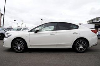 2017 Subaru Impreza G5 MY17 2.0i CVT AWD White 7 Speed Constant Variable Sedan.