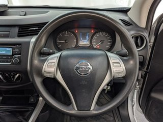 2016 Nissan Navara D23 S2 RX King Cab 4x2 Silver 6 Speed Manual Cab Chassis