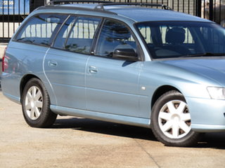 2007 Holden Commodore VZ MY06 Upgrade Executive Abyss Blue 4 Speed Automatic Wagon.