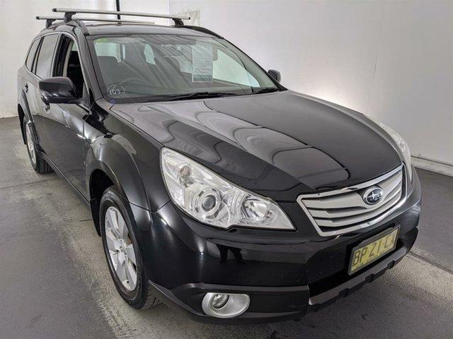 Used Subaru Outback B5A MY12 2.5i AWD Premium Maryville, 2012 Subaru Outback B5A MY12 2.5i AWD Premium Black 6 Speed Manual Wagon