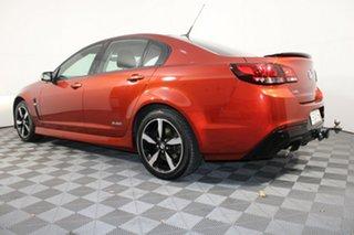 2016 Holden Commodore VF II MY16 SV6 Black Red 6 Speed Sports Automatic Sedan