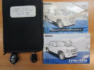 2011 Isuzu D-MAX MY11 LS-U White 4 Speed Automatic Utility