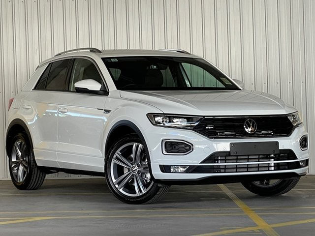 Demo Volkswagen T-ROC A1 MY21 140TSI DSG 4MOTION Sport Moorabbin, 2021 Volkswagen T-ROC A1 MY21 140TSI DSG 4MOTION Sport White 7 Speed Sports Automatic Dual Clutch