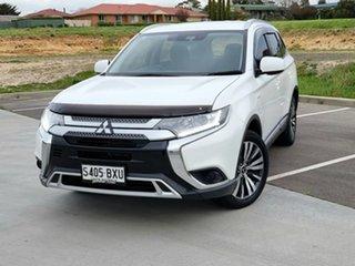 2018 Mitsubishi Outlander ZL MY18.5 ES 2WD ADAS White 6 Speed Constant Variable Wagon.