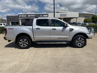 2017 Ford Ranger PX MkII Wildtrak Double Cab Silver/280217 6 Speed Sports Automatic Utility.