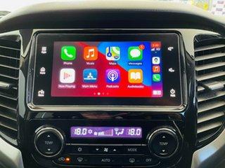 2017 Mitsubishi Triton MQ MY17 Exceed Double Cab White 5 Speed Sports Automatic Utility