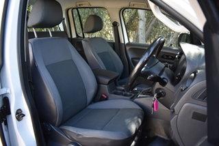 2013 Volkswagen Amarok 2H MY13 TDI420 4Motion Perm Trendline White 8 Speed Automatic Utility