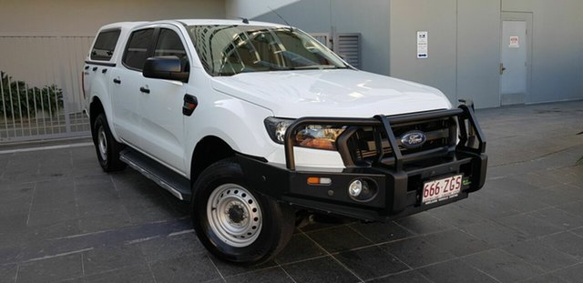 Used Ford Ranger PX MkII MY17 Update XL 2.2 Hi-Rider (4x2) Southport, 2017 Ford Ranger PX MkII MY17 Update XL 2.2 Hi-Rider (4x2) White 6 Speed Automatic Crew Cab Pickup