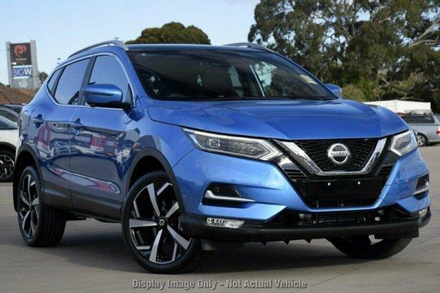 New Nissan Qashqai MY20 TI Castle Hill, 2021 Nissan Qashqai MY20 TI Vivid Blue Continuous Variable Wagon