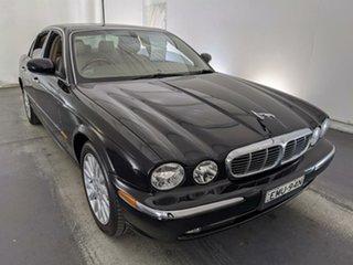 2005 Jaguar XJ8 X350 Black 6 Speed Automatic Sedan.
