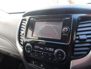 2015 Mitsubishi Triton MQ MY16 GLS Double Cab White 5 Speed Sports Automatic Utility