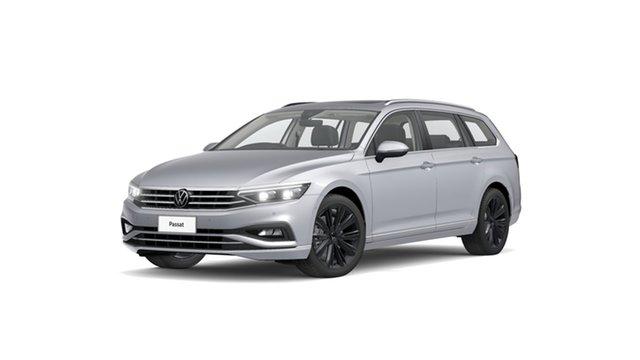 New Volkswagen Passat 3C (B8) MY21 162TSI DSG Elegance Cardiff, 2021 Volkswagen Passat 3C (B8) MY21 162TSI DSG Elegance Pyrit Silver Metallic 6 Speed