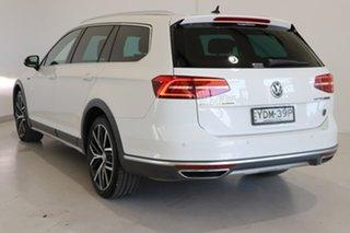 2016 Volkswagen Passat 3C (B8) MY17 Alltrack DSG 4MOTION Wolfsburg Edition White 6 Speed.