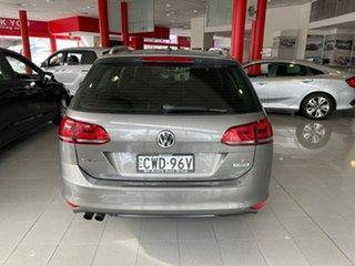 2014 Volkswagen Golf VII MY14 90TSI DSG Grey 7 Speed Sports Automatic Dual Clutch Hatchback.