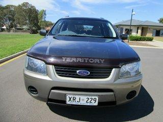 2007 Ford Territory SY TS (RWD) Grey 4 Speed Auto Seq Sportshift Wagon.