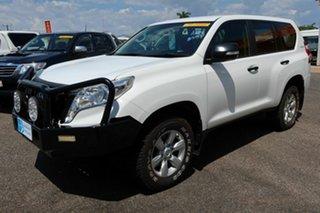 2016 Toyota Landcruiser Prado GDJ150R GX White 6 Speed Sports Automatic Wagon
