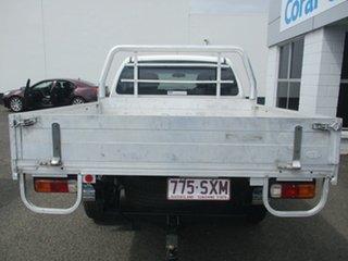 2012 Nissan Navara D40 MY12 ST (4x2) White 5 Speed Automatic Dual Cab Pick-up.