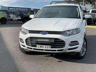 2014 Ford Territory Titanium White Sports Automatic Wagon