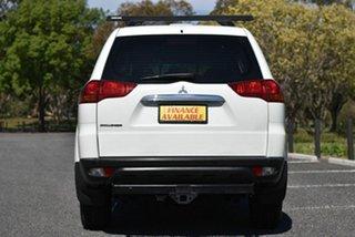 2012 Mitsubishi Challenger PB (KG) MY13 2WD White 5 Speed Sports Automatic Wagon