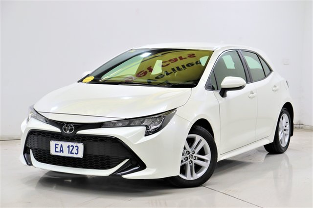 Used Toyota Corolla Mzea12R Ascent Sport Brooklyn, 2018 Toyota Corolla Mzea12R Ascent Sport White 10 Speed Constant Variable Hatchback