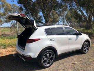 2020 Kia Sportage QL MY20 GT-Line AWD Snow White 6 Speed Sports Automatic Wagon.