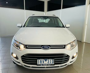 2014 Ford Territory SZ TS Seq Sport Shift White 6 Speed Sports Automatic Wagon.