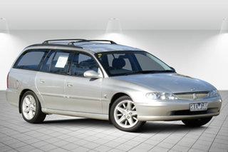 2002 Holden Berlina VX II Adventurine Silver 4 Speed Automatic Wagon.
