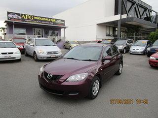 2006 Mazda 3 BK MY06 Upgrade Neo Purple 4 Speed Auto Activematic Hatchback.