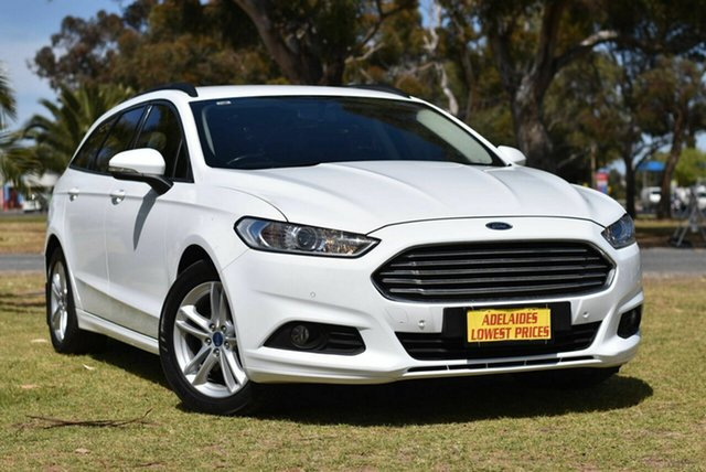Used Ford Mondeo MD Ambiente Cheltenham, 2016 Ford Mondeo MD Ambiente White 6 Speed Sports Automatic Dual Clutch Wagon