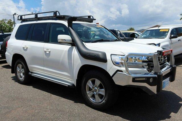 Used Toyota Landcruiser VDJ200R GXL Winnellie, 2018 Toyota Landcruiser VDJ200R GXL White 6 Speed Sports Automatic Wagon