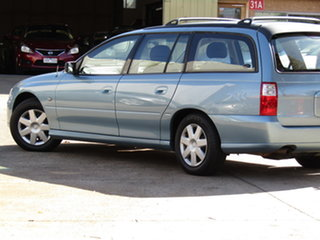 2007 Holden Commodore VZ MY06 Upgrade Executive Abyss Blue 4 Speed Automatic Wagon