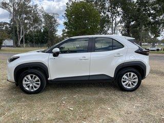 2021 Toyota Yaris Cross MXPJ10R GX 2WD White 1 Speed Constant Variable Wagon Hybrid