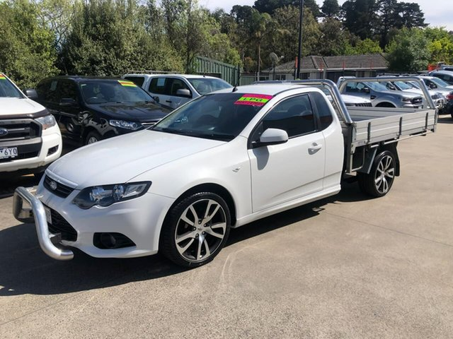 Used Ford Falcon FG MkII XR6 Super Cab EcoLPi Berwick, 2014 Ford Falcon FG MkII XR6 Super Cab EcoLPi White 6 Speed Sports Automatic Cab Chassis