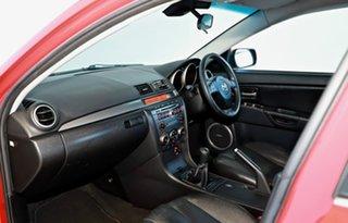 2007 Mazda 3 BK1032 SP23 Red 6 Speed Manual Sedan