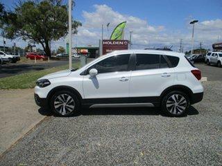 2020 Suzuki S-Cross JY Turbo Prestige Pearl White 6 Speed Sports Automatic Hatchback.