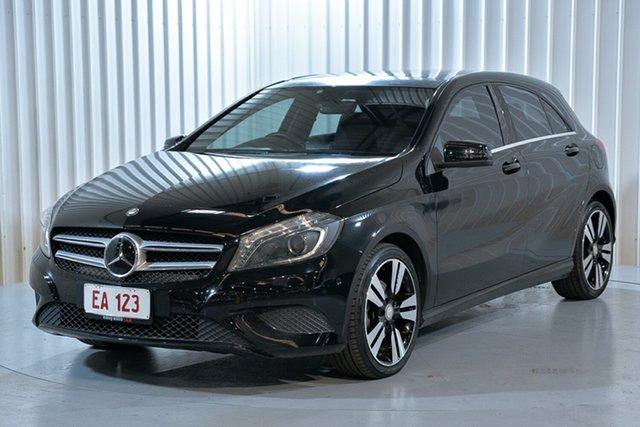 Used Mercedes-Benz A-Class W176 A200 CDI D-CT Hendra, 2014 Mercedes-Benz A-Class W176 A200 CDI D-CT Black 7 Speed Sports Automatic Dual Clutch Hatchback