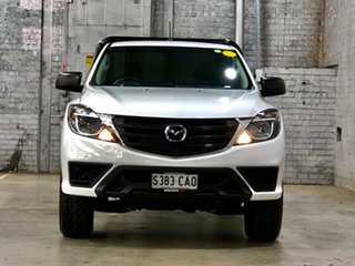 2019 Mazda BT-50 UR0YG1 XT White 6 Speed Sports Automatic Cab Chassis.