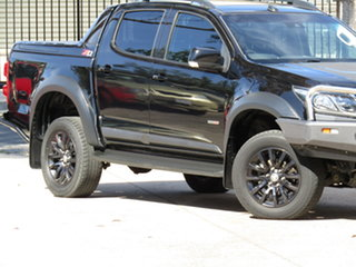 2018 Holden Colorado RG MY18 Z71 (4x4) Agate Black 6 Speed Automatic Crew Cab Pickup.