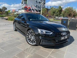 2017 Audi A5 F5 MY18 Sport S Tronic Quattro Black 7 Speed Sports Automatic Dual Clutch Coupe