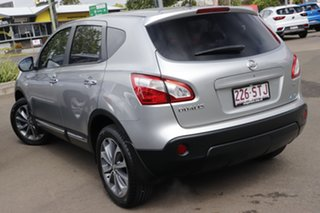 2012 Nissan Dualis J10W Series 3 MY12 Ti-L X-tronic AWD Silver 6 Speed Constant Variable Hatchback.