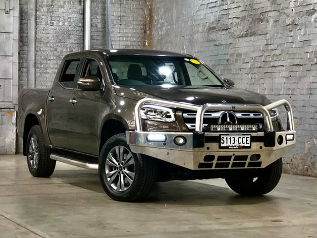 Used Mercedes-Benz X-Class 470 X250d 4MATIC Power Mile End South, 2017 Mercedes-Benz X-Class 470 X250d 4MATIC Power Grey 7 Speed Sports Automatic Utility