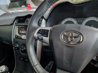 2012 Toyota Corolla ZRE152R MY11 Ascent Sport Glacier White 6 Speed Manual Sedan