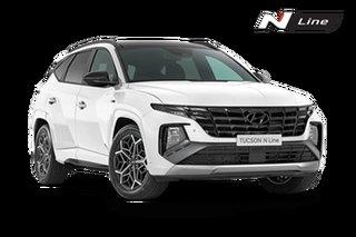 2021 Hyundai Tucson NX4.V1 Tucson Highlander N-Line White Cream 8 Speed Automatic SUV