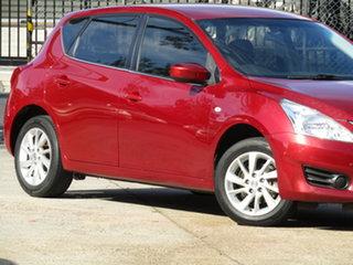 2013 Nissan Pulsar C12 ST Burgundy 1 Speed Constant Variable Hatchback.